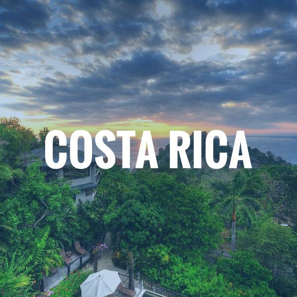 Costa Rica Travel Brochure
